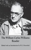 The William Carlos Williams Reader