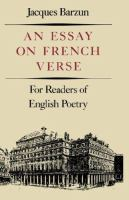 An Essay on French Verse