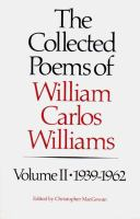 The Collected Poems of William Carlos Williams