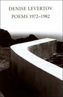 Poems 1972-1982