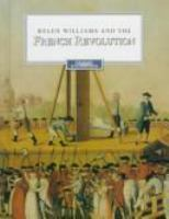 Helen Williams and the French Revolution