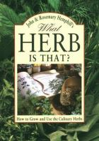What Herb Is That?