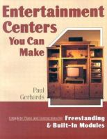 Entertainment Centers You Can Make