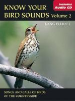 Know your Bird Sounds, Volume 2