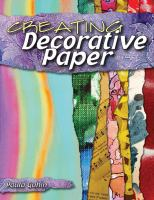 Creating Decorative Paper