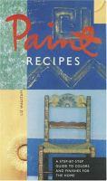 Paint Recipes