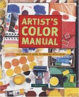 Artist's Color Manual