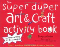 The Super Duper Art & Craft Activity Book