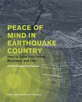 Peace of Mind in Earthquake Country