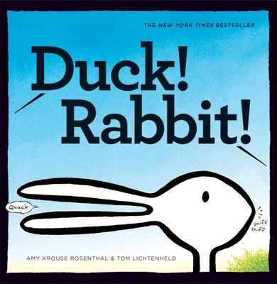 Cover image for Duck! Rabbit!