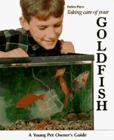 Taking Care of your Goldfish