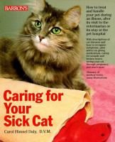 Caring for your Sick Cat