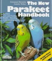 The New Parakeet Handbook