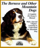 The Bernese and Other Mountain Dogs
