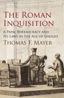 The Roman Inquisition