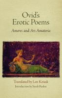 Ovid's Erotic Poems