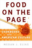 Food on the Page : Cookbooks and American Culture