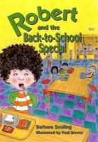 Robert and the Back-to School Special