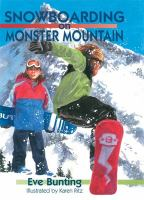 Snowboarding on Monster Mountain