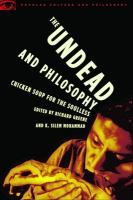 The Undead and Philosophy