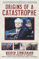 Origins of A Catastrophe