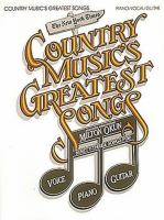New York Times Country Music's Greatest Songs