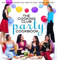 The Cooking Club Party Cookbook