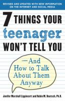 7 Things your Teenager Won't Tell You