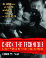 Check the Technique