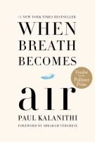 Book Club Kit : When Breath Becomes Air