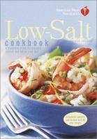 Low-salt Cookbook
