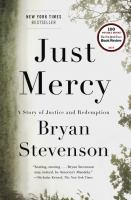 Cover of Just Mercy:  A Story of Ju
