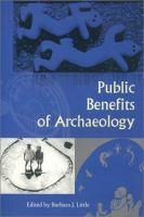 Public Benefits of Archaeology