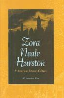 Zora Neale Hurston & American Literary Culture