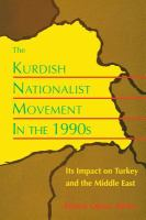 The Kurdish Nationalist Movement in the 1990s