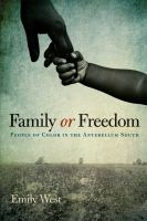 Family or Freedom