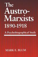 Austro-Marxists, 1890-1918