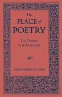 Place of Poetry
