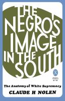 Negro's Image in the South