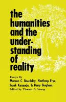 Humanities and the Understanding of Reality