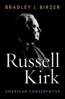 Russell Kirk, American Conservative