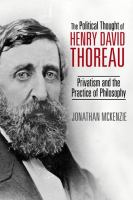 The Political Thought of Henry David Thoreau
