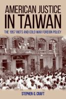 American Justice in Taiwan