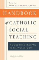 Handbook of Catholic Social Teaching