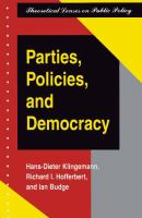Parties, Policies, and Democracy