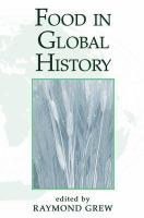 Food in Global History (Global History)