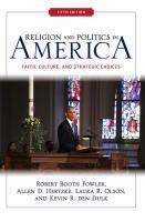 Religion and Politics in America