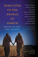 Dedicated to the People of Darfur