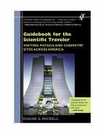 Guidebook for the Scientific Traveler