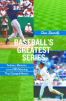 Baseball's Greatest Series